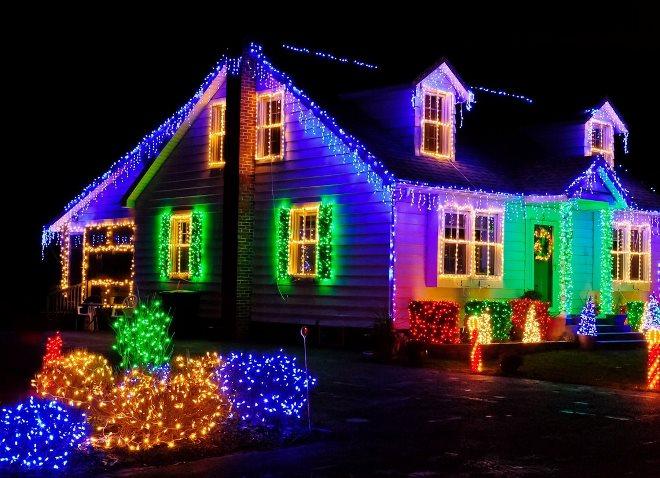 Как украсить дом к Новому Году.