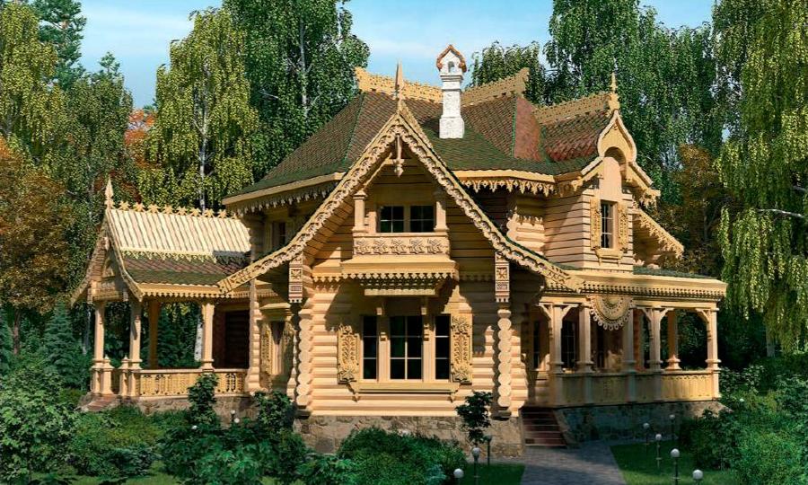 Как строили дома в Древней Руси.